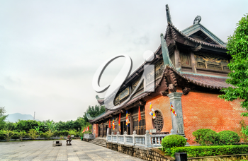Bai Dinh temple at Trang An. UNESCO world heritage in Vietnam