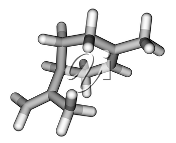 Limonene, the compound with strong smell of oranges