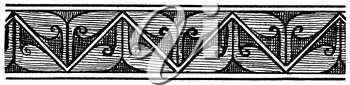 Royalty Free Clipart Image of a Border