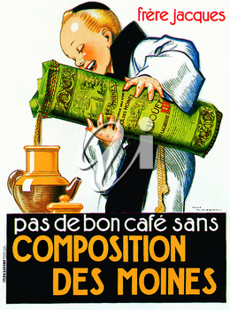 Royalty Free Clipart Image of a Poster