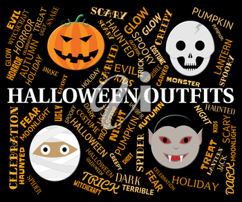 Halloween Outfits Showing Trick Or Treat Clothes