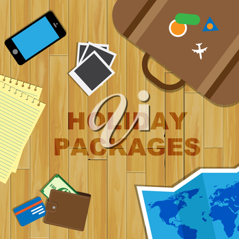 Holiday Packages Meaning Organised Trip And Holidays