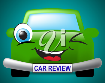 Car Review Meaning Motor Evaluation And Feedback