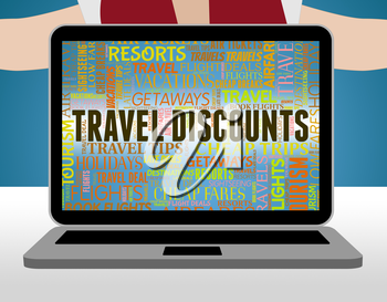 Travel Discounts Showing Journeys Offers And Bargains
