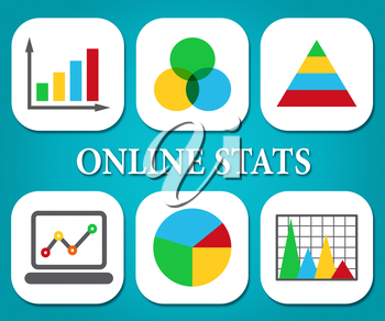 Online Stats Representing Business Graph And Www
