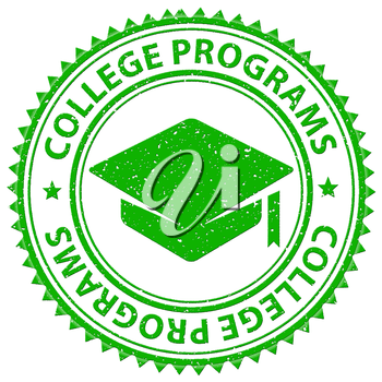 College Programs Showing Tutoring Stamps And Training