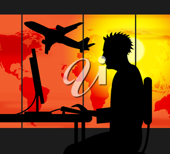Travel Agent Meaning Working Workplace And Journey