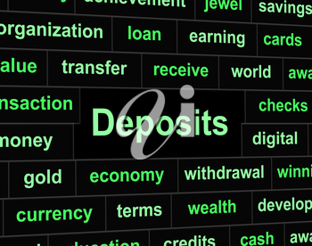 Finance Deposit Showing Pre Payment And Investment