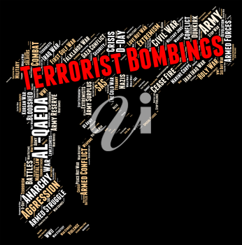 Terrorist Bombings Indicating Urban Guerrilla And Fighter