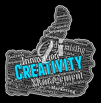Creativity Thumbs Up Meaning Innovative Creation And Ideas