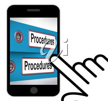 Procedures Folders Displaying Correct Process And Best Practice