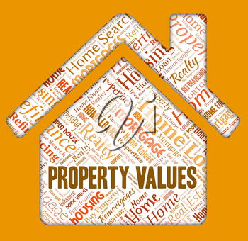 Property Values Indicating Selling Price And Estimate
