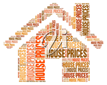 House Prices Showing Values Value And Valuations