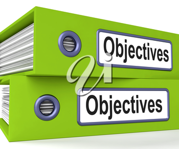 Objectives Folders Meaning Business Goals And Targets