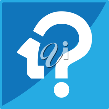 Question Mark Icon Concept Design.