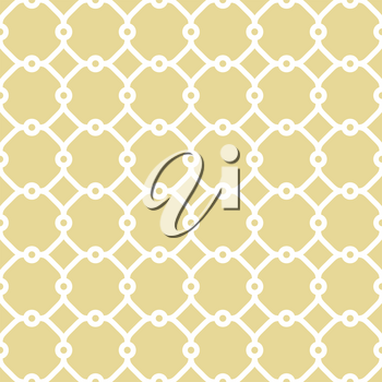 Seamless vector white ornament in arabian style. Geometric abstract background. Pattern for wallpapers and backgrounds