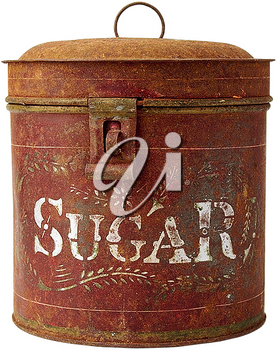 Royalty Free Photo of an Antique Sugar Container