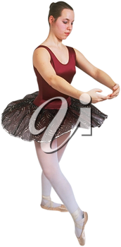 Royalty Free Photo of a Ballerina