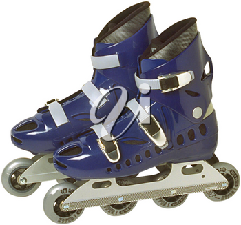 Royalty Free Photo of a Pair of Roller Blades