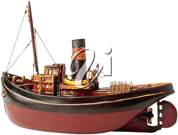 Royalty Free Photo of a Replica Model Ship