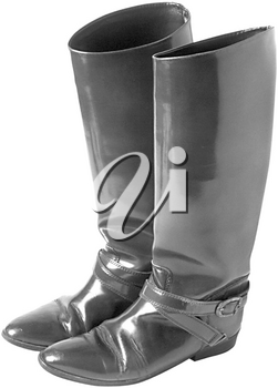 Royalty Free Photo of a Woman's Fashion Boot