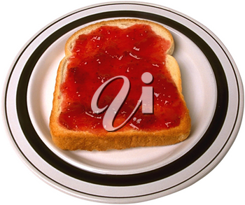 Royalty Free Photo of a Slice of Toast