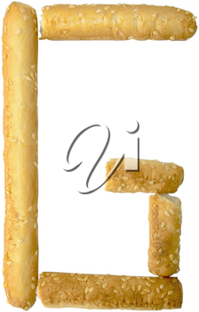 Royalty Free Photo of a Breadsticks