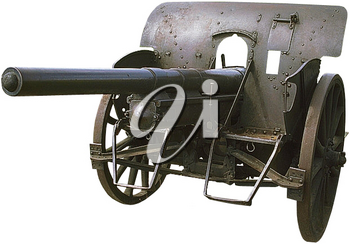 Royalty Free Photo of a Replica Cannon