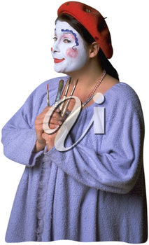 Royalty Free Photo of a Clown