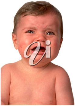 Royalty Free Photo of a Crying Baby