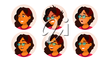Avatar Icon Woman Vector. User Person. Trendy Image. Flat Cartoon Character Illustration