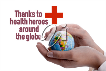 Thanks to doctors and medical workers during the coronavirus pandemic